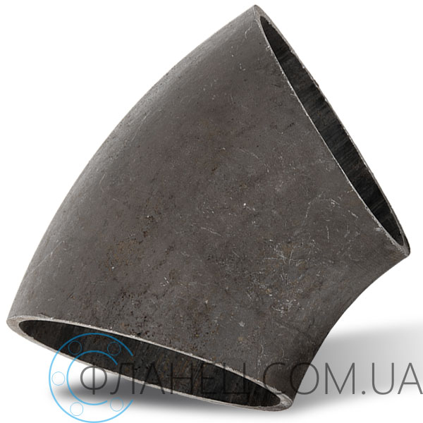 Отвод 45 ° стальной Ду 100 (108x3.5)