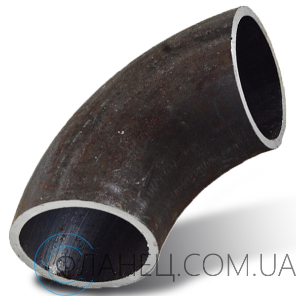 Отвод 90 ° стальной Ду 350 (377x8)